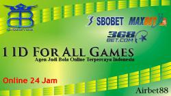 Agen Judi Bola Online Terpercaya Indonesia